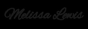 Melissa Lewis signature